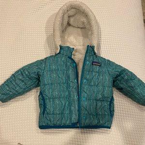 Reversible Patagonia 12-18 Month Coat